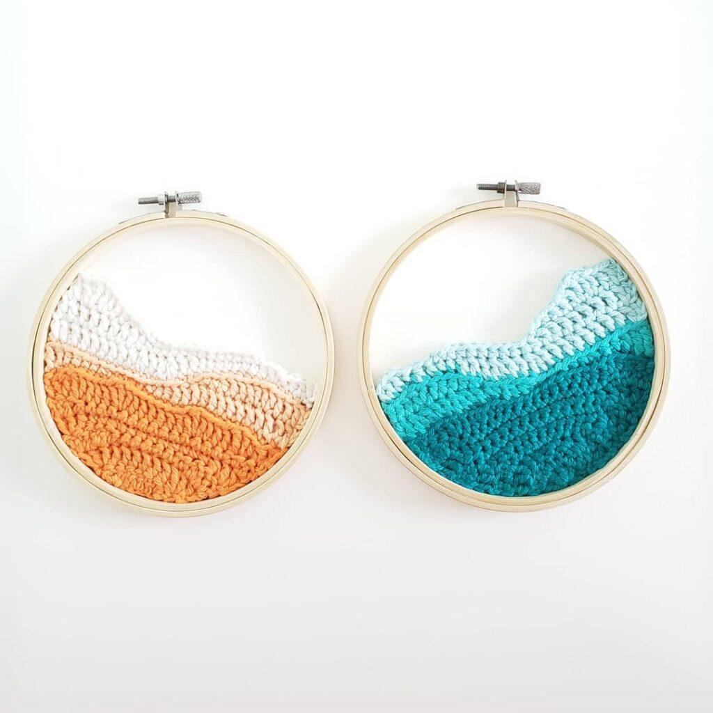 Get the pattern, designed by Willie of Sugar Carousel #crochet #fiberart #art