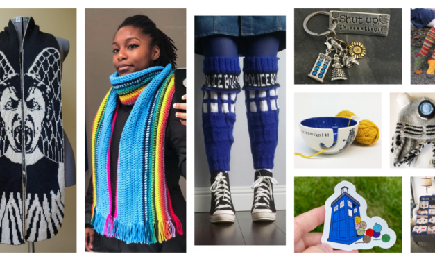 Designer Spotlight: Amazing Doctor Who-Inspired Knit & Crochet Patterns and Tools
