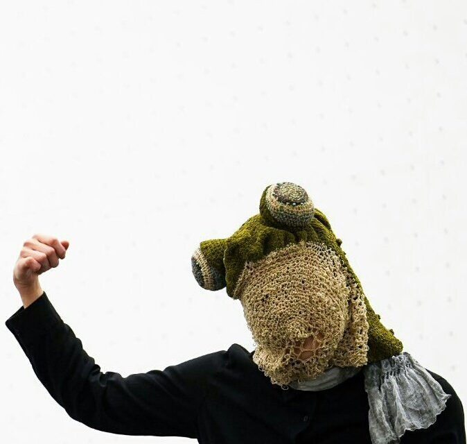 The Coolest Custom Frog Masks Designed By HAAaaa … Artistic Crochet & Cosplay Hook Up!
