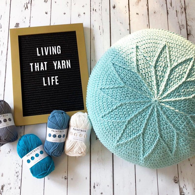 Get the pattern, designed by Sandra Eng of Mobius Girl Design #crochet #handmade #diy
