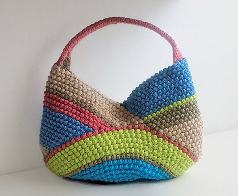 Designer Spotlight: Crochet Purses and Poufs, Patterns Designed By Tatiana of isWoolish