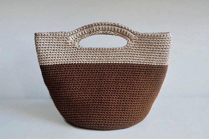 Designer Spotlight: Crochet Purses and Poufs, Patterns Designed By Tatiana of isWoolish