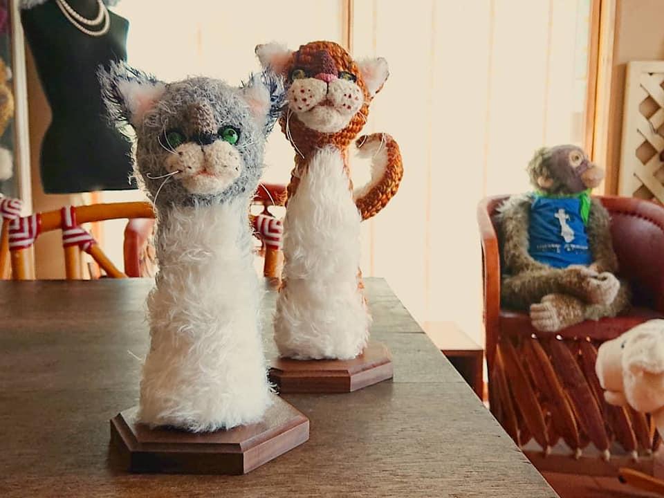 Amigurumi Artist Lumièna Made Some Cats ...
