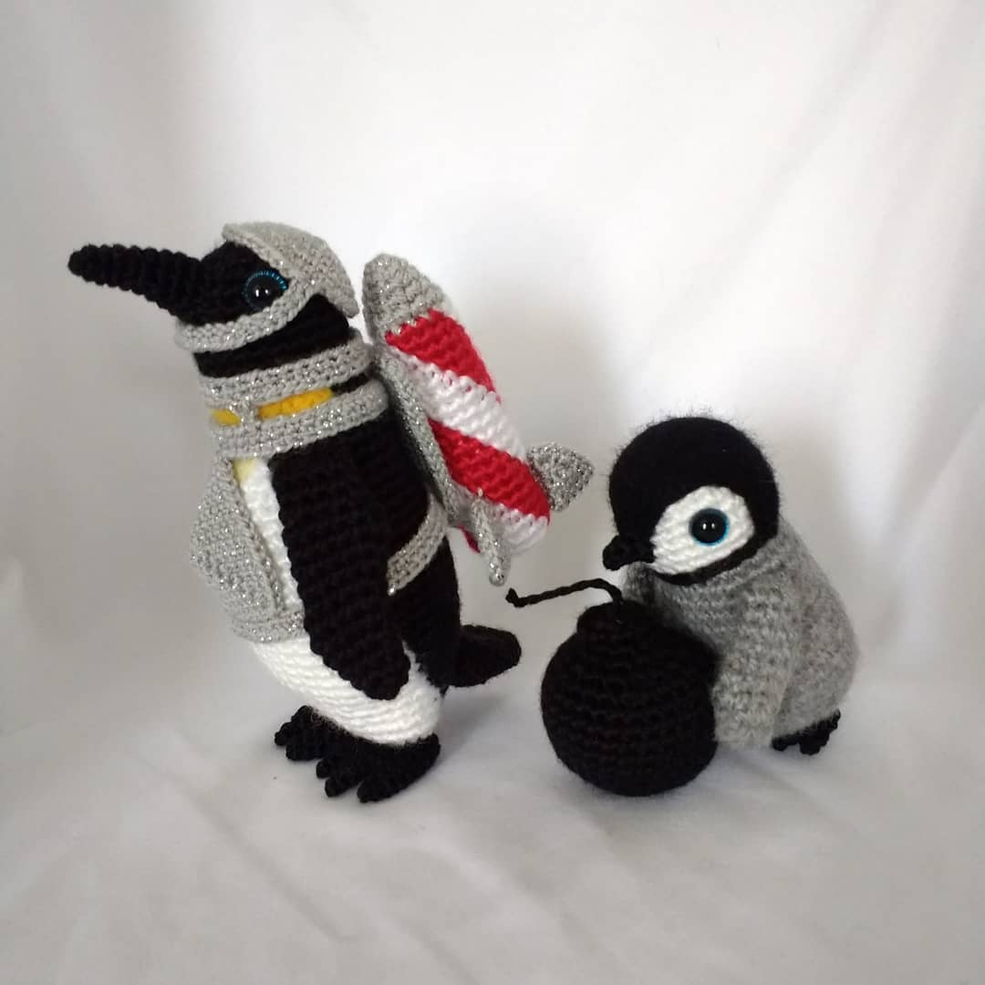 Amazing Amigurumi By Artist Samantha Simpson aka 'The Master Planner'