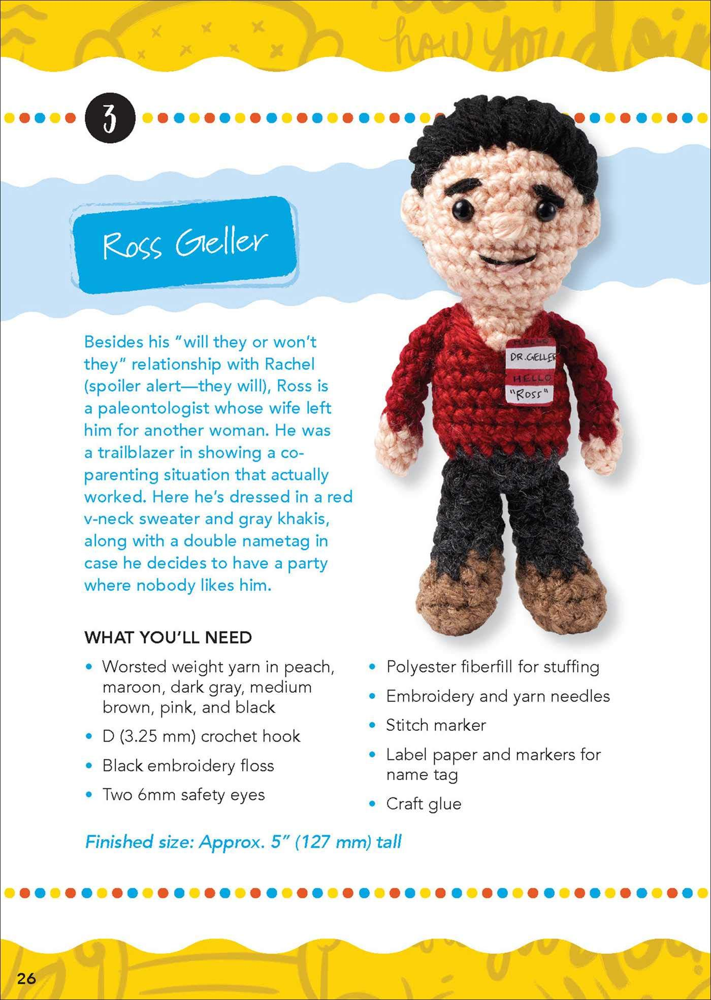 Pre-Order Your Copy of Crafty Is Cool's 'Friends' Crochet Kit!
