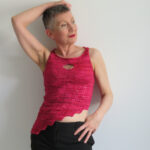 Knit a Spicy Lady Tank Top Desigend By Paola Albergamo … You Simply Must, It's Wearable Art