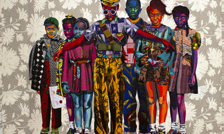 Take an Online Tour of Bisa Butler's Fabulous Fabric Portraits, Courtesy of Katonah Museum of Art