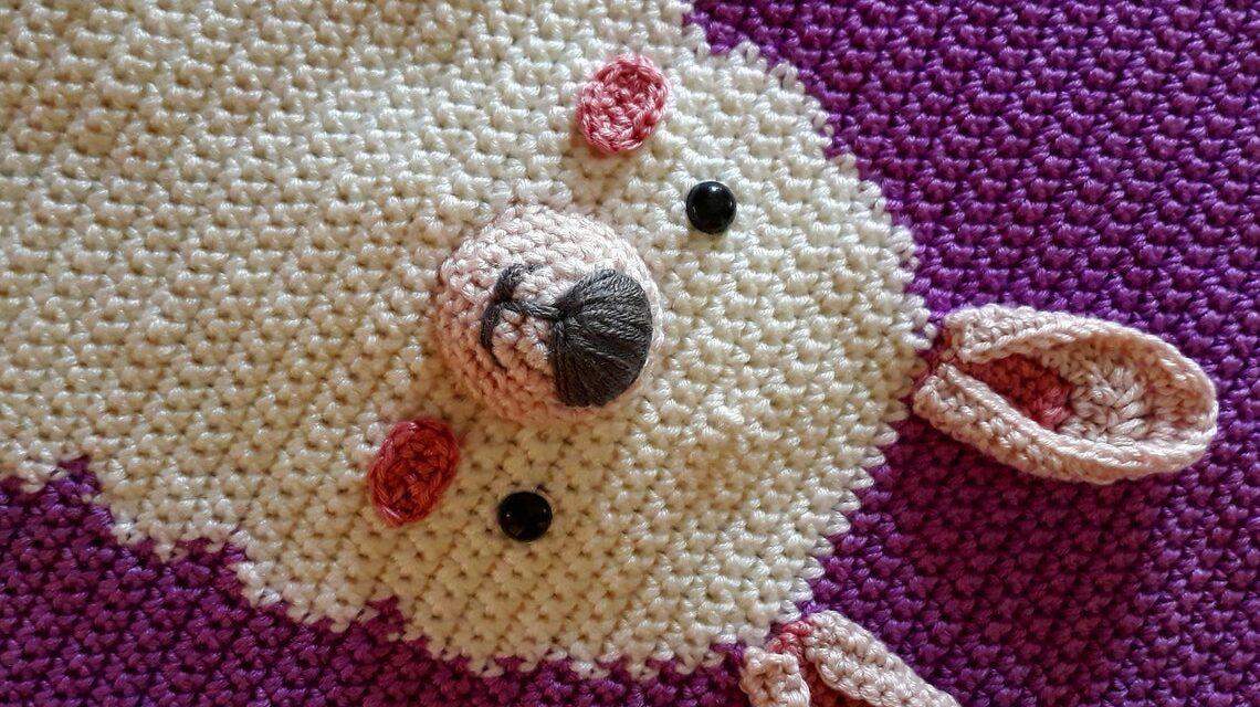 Crochet a Cute Llama Wall Hanging, Makes A Great Gift!