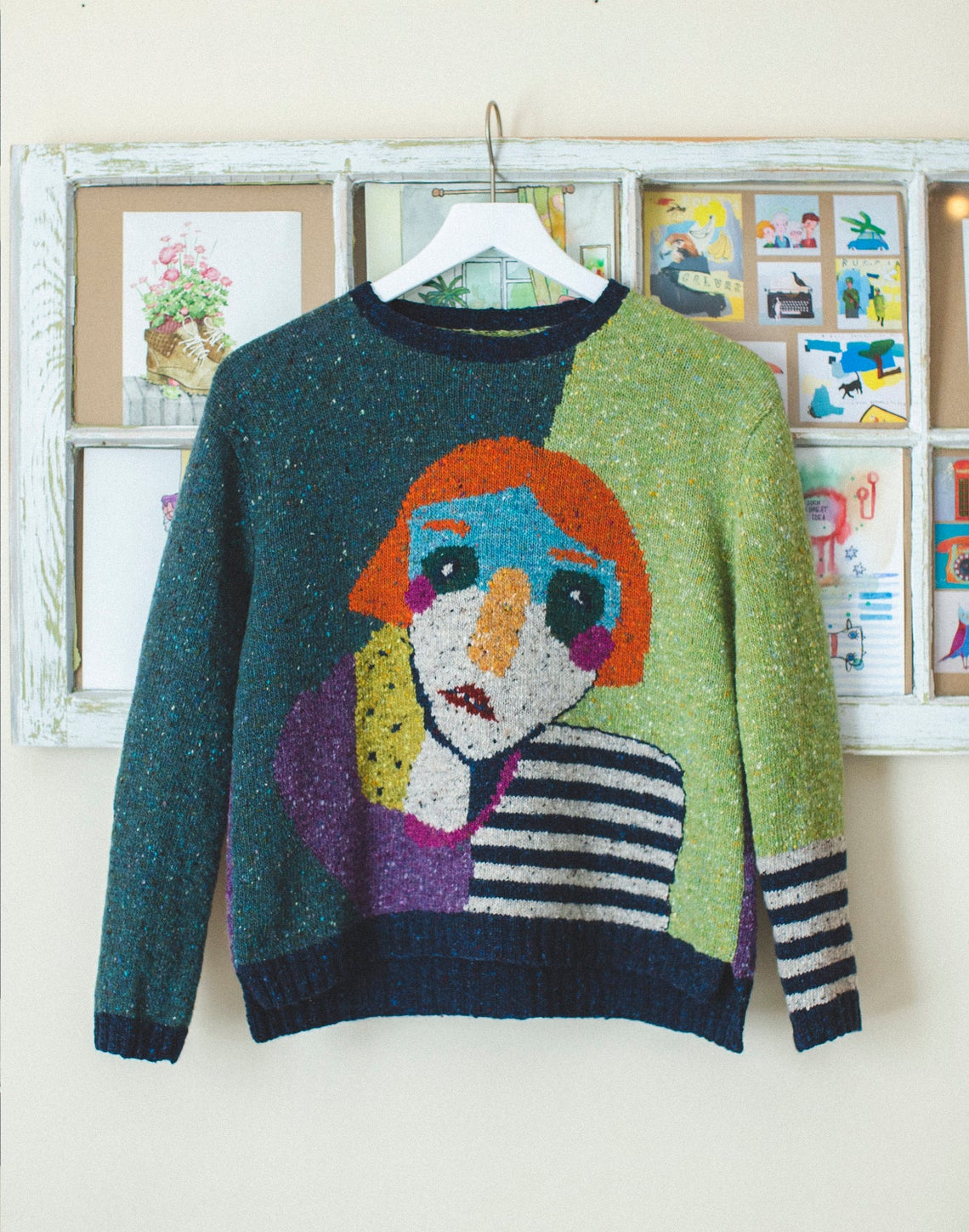 Knits Inspired By Art #knitting #art