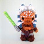 Star Wars Alert! Crochet an Awesome Mini Ahsoka Tano Amigurumi