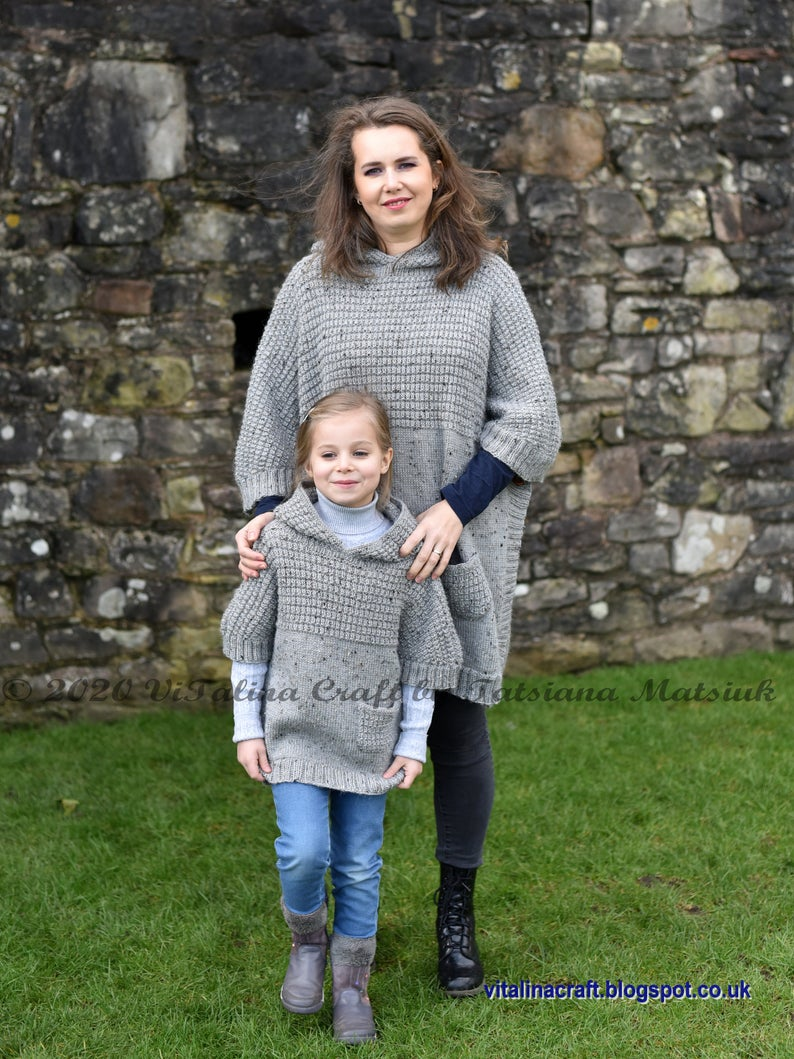 Designer Spotlight: Gorgeous Knit Patterns For All Ages, Designed By Tanya of ViTalinaCraft #knitting