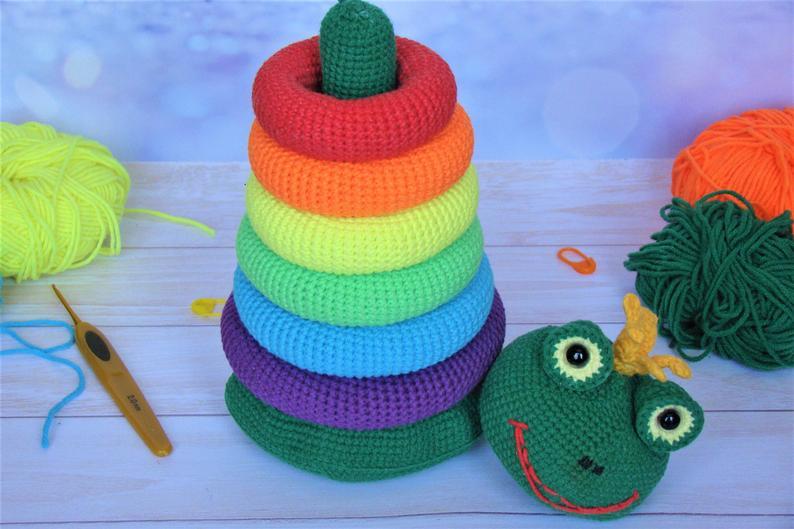 Crochet patterns by Anna Nas Toys #crochet #amigurumi
