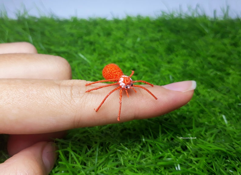 Presenting The Tiniest Spider Amigurumi You've Ever Seen, Get The 10-Step Pattern To Make One!