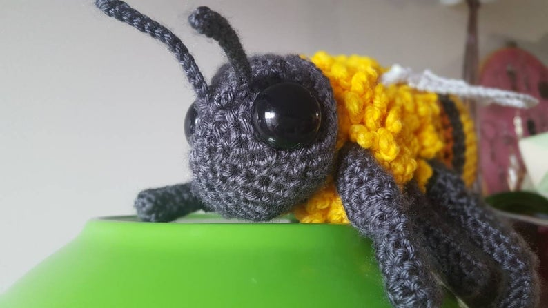 Incredible Bumblebee Amigurumi ... You're Gonna Want To Get This Pattern!