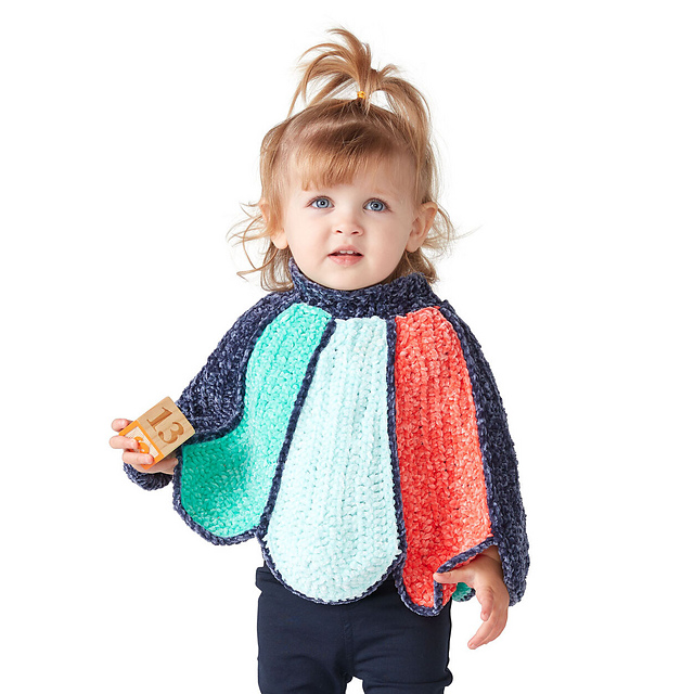 Oh My Goodness, This Petal Poncho Pattern Is The Cutest … The Pattern Is Free!