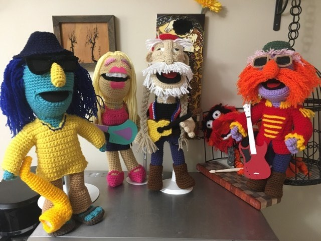 Barbara Smith's Amigurumi Muppets Are The Best Thing You'll See Today … She's A Crochet Master!