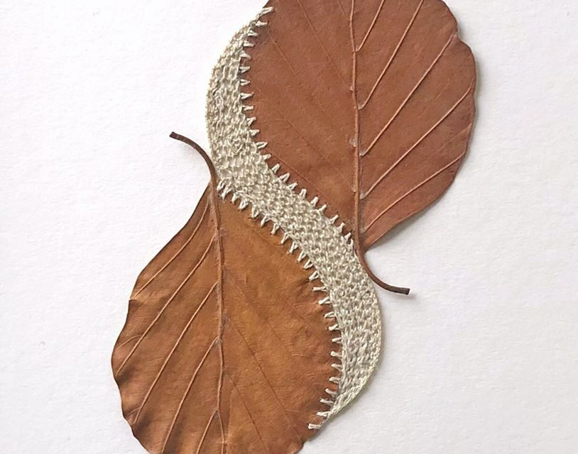 Recent Piece From Leaf Artist Susanna Bauer, 'Stream'