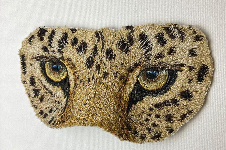 Janine Heschl's Amur Leopard Mask