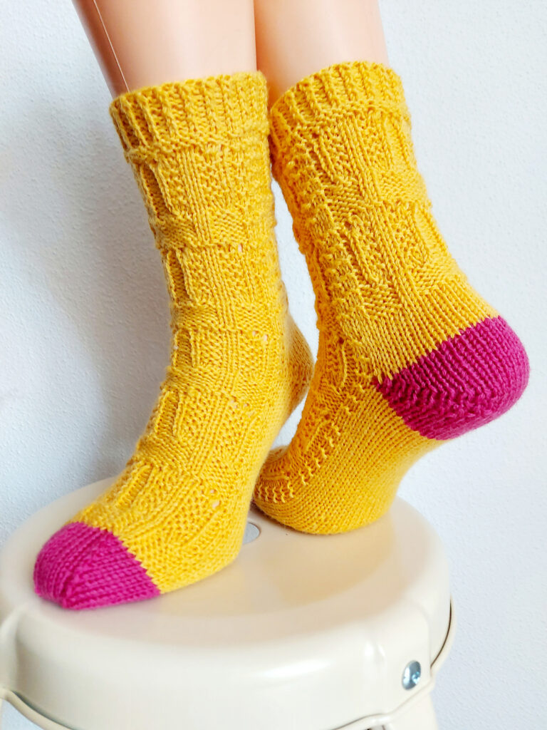 Knit a Fun Pair of PopSockles Socks, Designed By Nikki Ross Patterson