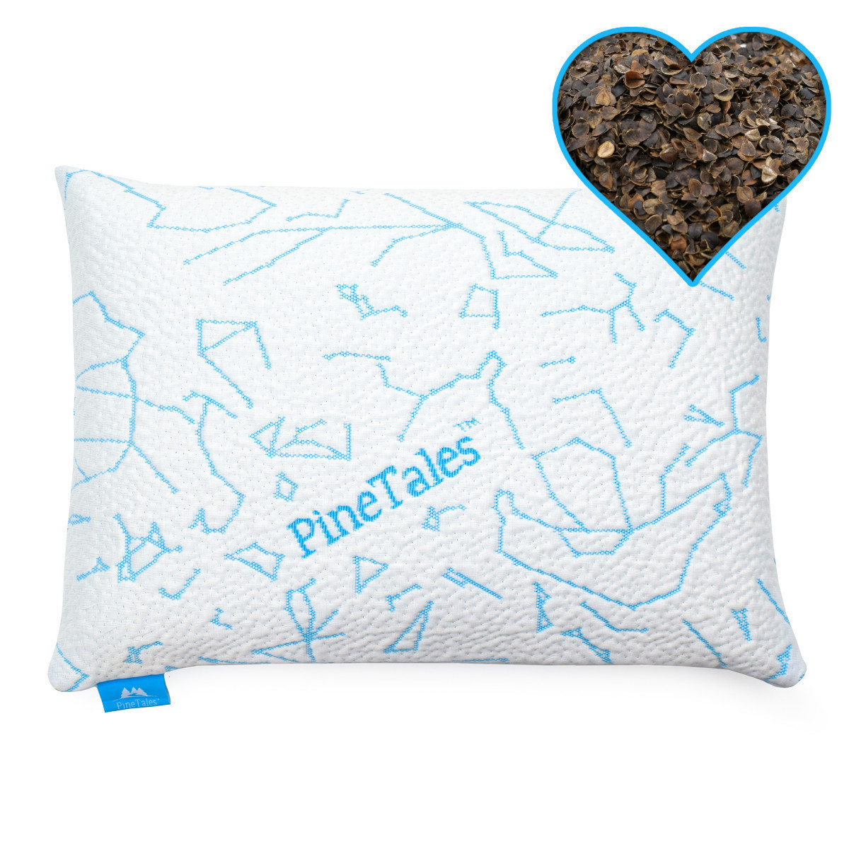 Have You Heard About The Cooling Designer Buckwheat Pillow From PineTales?