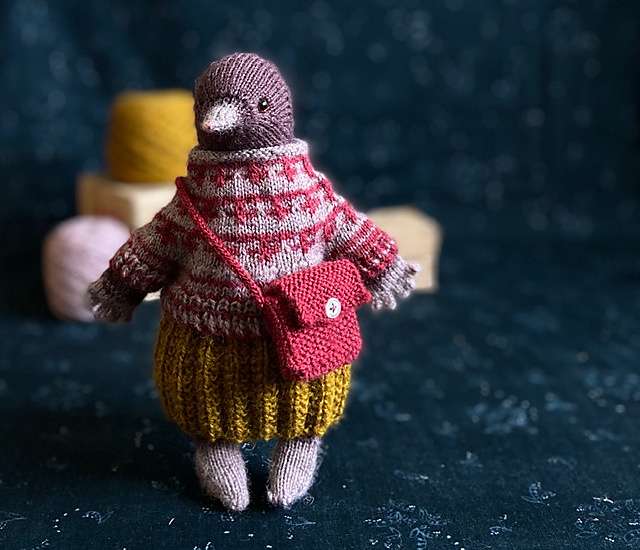 Knit a Merri Molly The Mole Amigurumi and Her Adorable Accessories Too