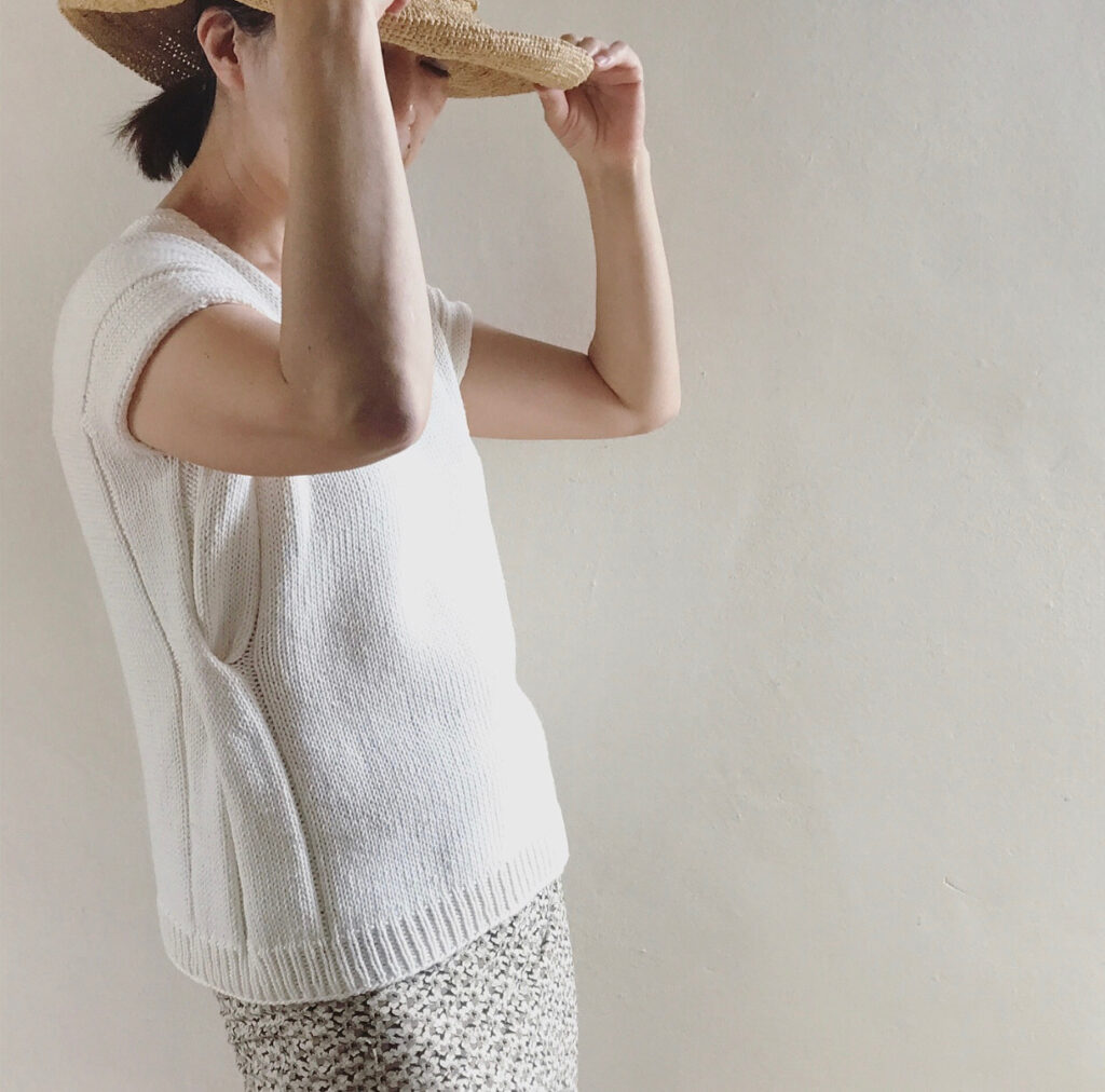 Knit a Loop Tee Designed By Hiromi Nagasawa ... The Charm Is In The Details!