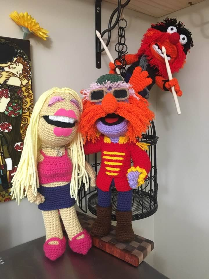 Barbara Smith's Amigurumi Muppets Are The Best Thing You'll See Today ... She's A Crochet Master!
