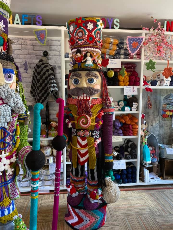 Time To Get Into The Holiday Spirit ... These Nutcrackers By The Crochet Crowd Will Make It Easy!