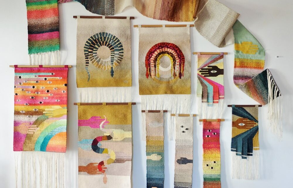 Natalie Novak is a Total Yarn Wizard … Her Tapestry Weavings Are Stunning!