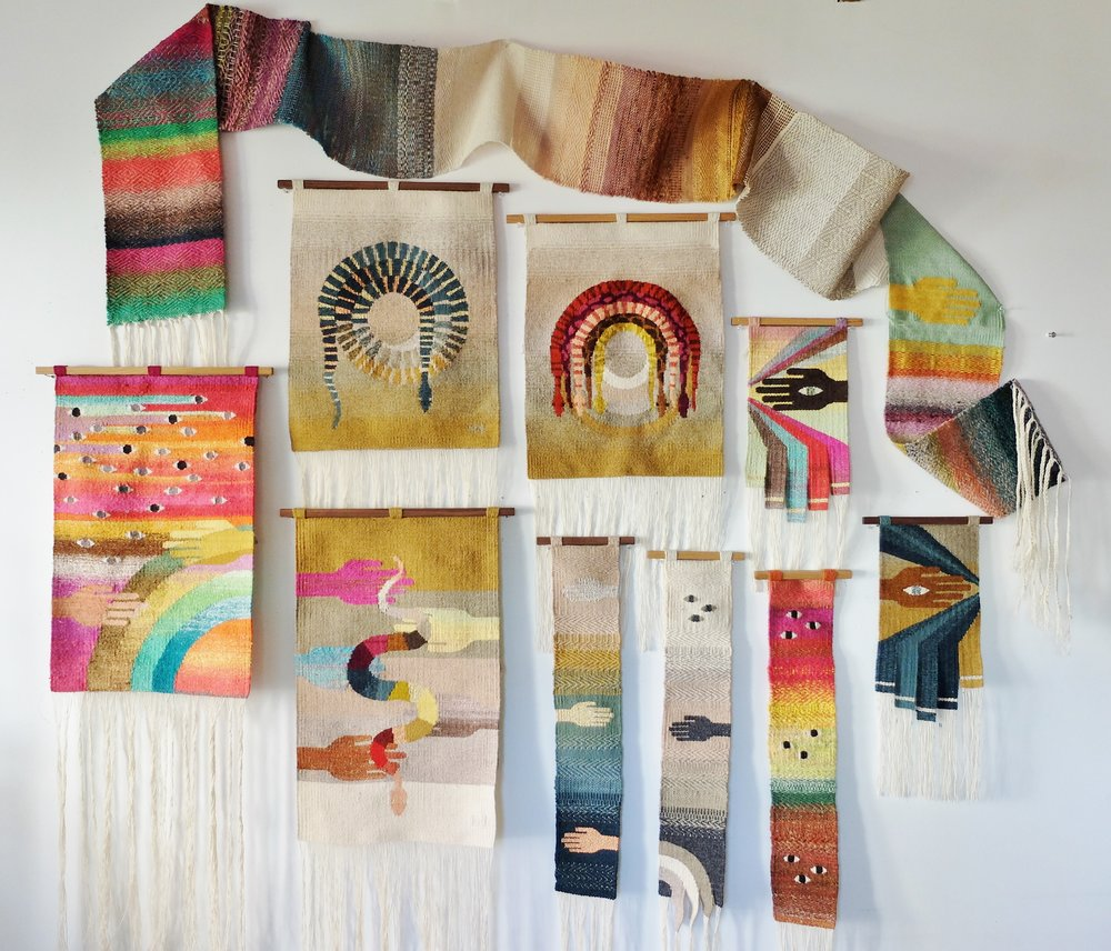 Natalie Novak is a Total Yarn Wizard ... Her Tapestry Weavings Are Stunning!