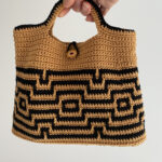 Crochet a Marvelous Maze Bag, Designed By Carol Ibbetson