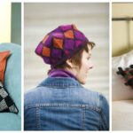 Three Funky Fun & Arty Patterns From 'Knit To Be Square,' Designed By Vivian Hoxbro