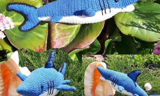Crochet This Totally Jawsome Toy Shark Amigurumi!