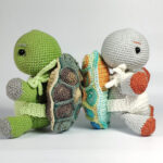 Crochet a Turtle Toy Amigurumi With Removable Shells!