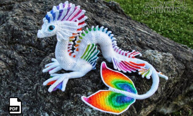 Mind Blown! Crochet A Spectacular Sea Serpent Amigurumi, By Megan Lapp Of Crafty Intentions