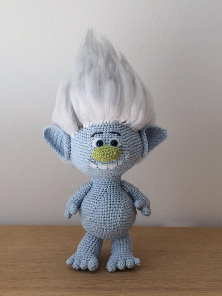 crochet patterns inspired by Trolls #crochet #amigurumi
