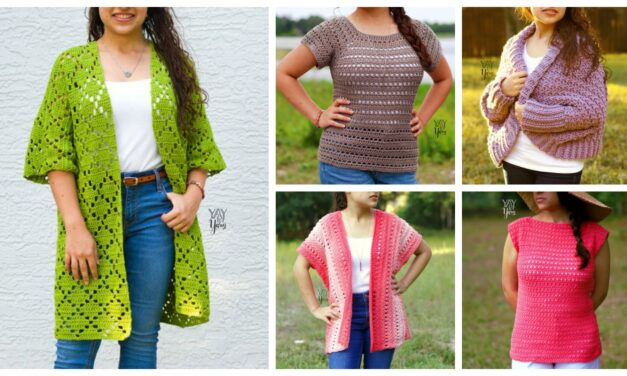 Designer Spotlight: Cute Crochet Tops and More From Brianna of Yay For Yarn Shop