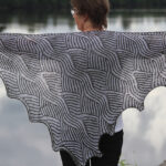 Knit a Fabulous Fossefall Shawl … Great Beginner Brioche Project