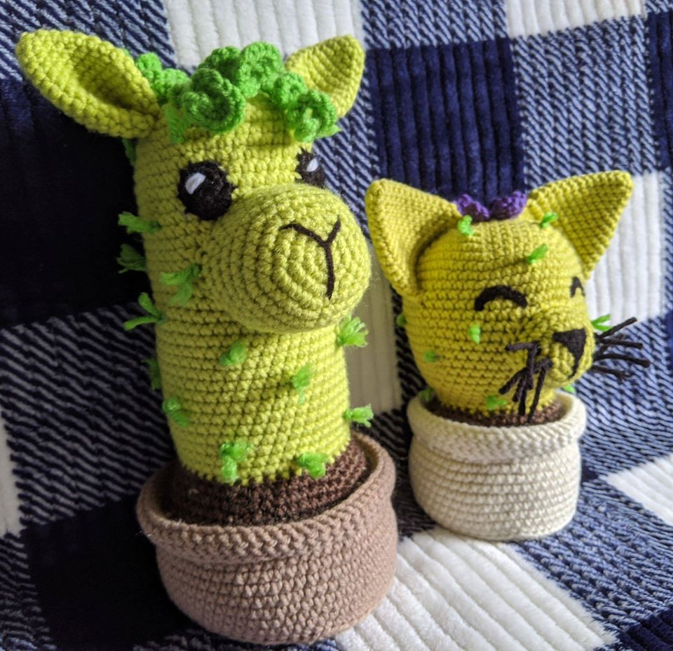 Forget the Llama Drama, You Need This Alpactus In Your Life NOW ... Bonus Cattus For Crocheting Cat Lovers!