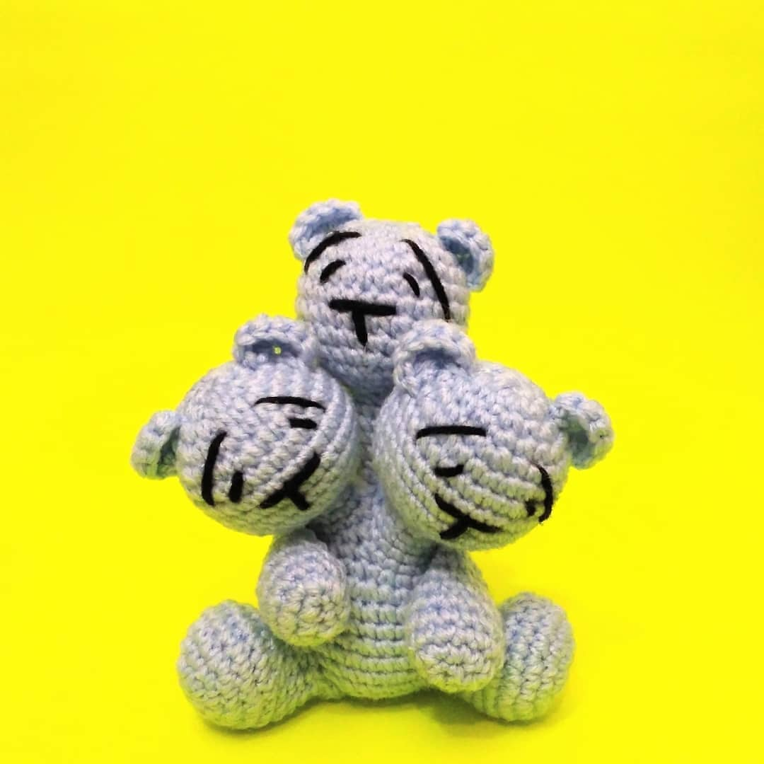 Crochet a Creepy Three-Headed Teddy Bear With This Free Pattern From Cult Amigurumi!