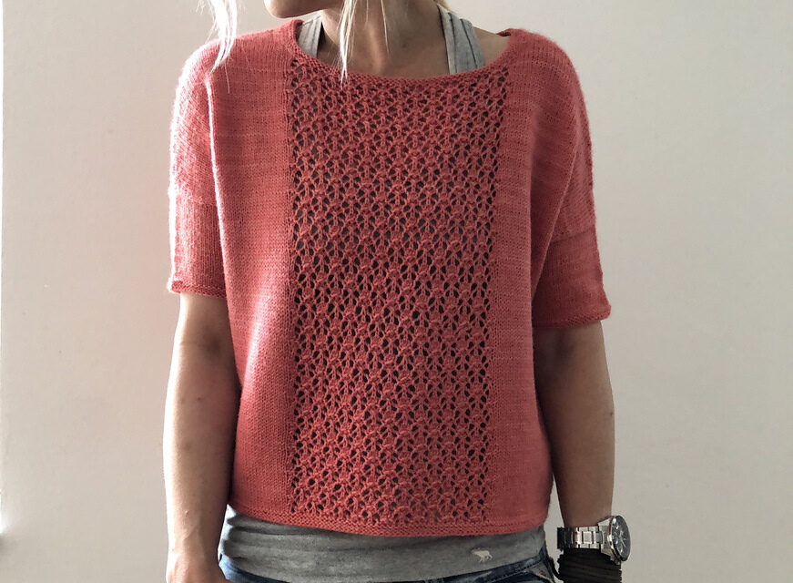 Knit a Gorgeous 'Ooh La La' Sweater Designed By Isabell Kraemer … This Is A Must-Make!