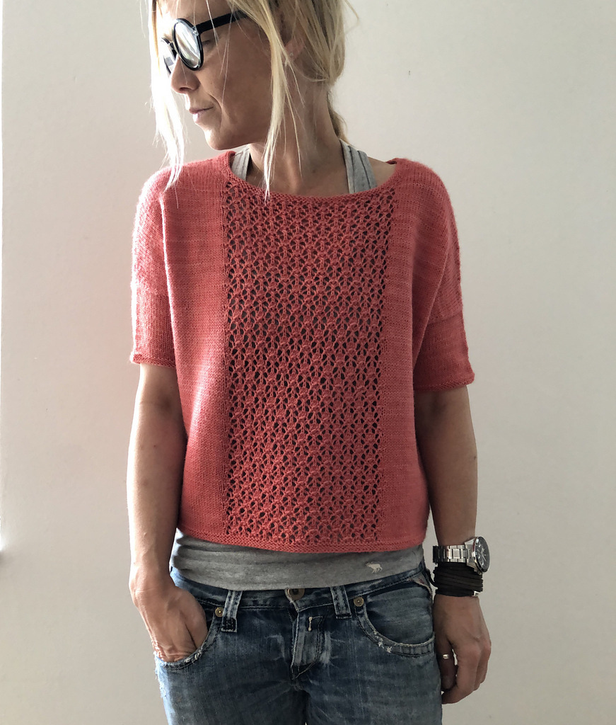 Knit a Gorgeous 'Ooh La La' Sweater Designed By Isabell Kraemer ... This Is A Must-Make!