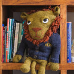 Knit a Leonardo The Lion Designed By Brenda K. B. Anderson … Such a Handsome Specimen!