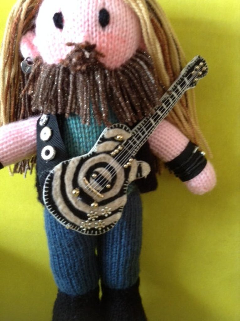 Knit An Ozzy Osbourne Amigurumi ... And A Zakk Wylde Too!