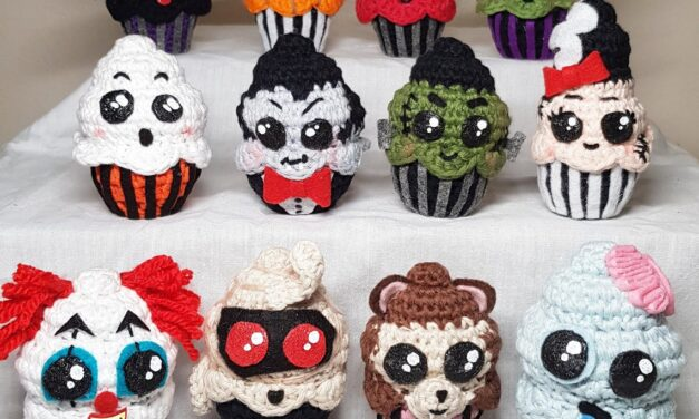 Quirky Cute and 100% Fun Halloween Cupcake Amigurumi … Perfect Little Charmers, Creepy Cool!