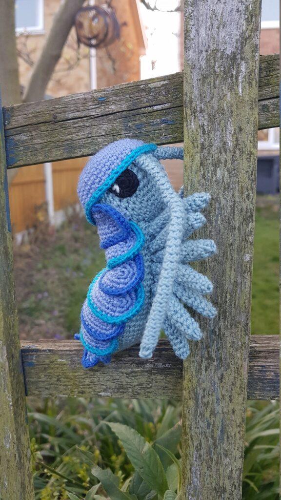 Patterns designed by Blue Square Dinosaur #crochet