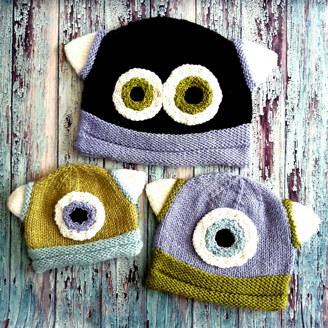 Knit a Fun Monster Beanie ... Fun For Kids, Perfectly Acceptable For Grown-Ups Too!