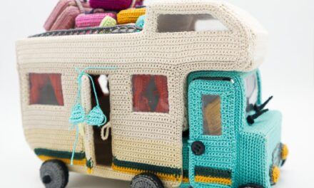 Incredible Crochet Caravan Pattern With a Ton Of Accessories To Boot … Maximum Points For Giftability!