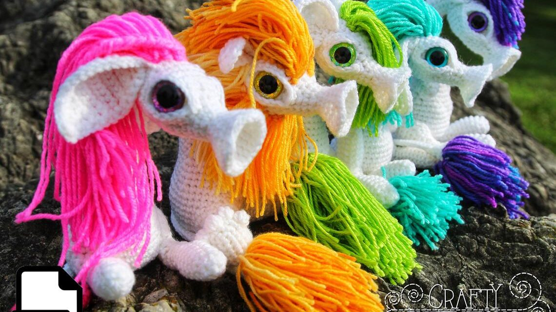 Make-Believe at Its Best, Crochet a Wobblemop Amigurumi, Designed By Megan Lapp Of Crafty Intentions