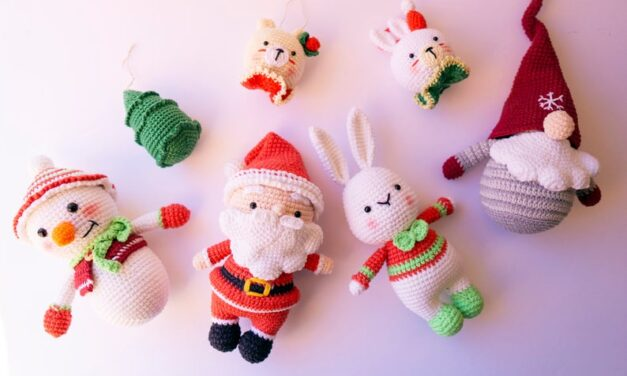 It's Time To Start Crocheting Christmas Amigurumi … Don't Wait Until It's Too Late!